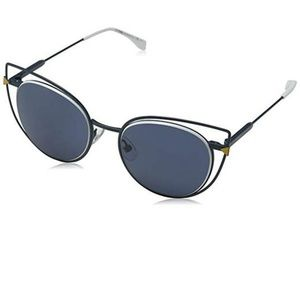 Fendi Sunglasses Blue w/Blue Lens